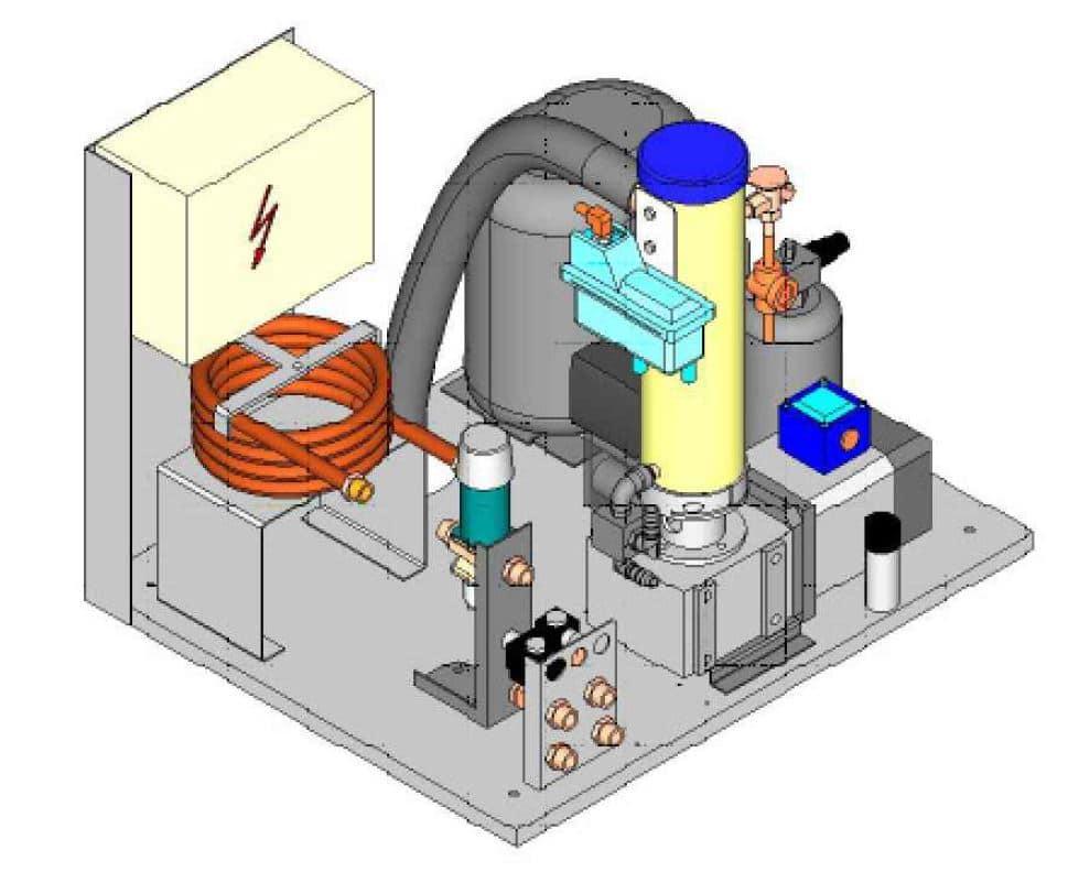 Eismaschine F-ZBE für Sauna, Spa und Wellnessbereich - 18