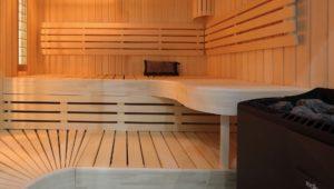 Saunaoefen und Steuerungen fuer Kabinen bis 25