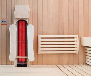 in Sauna-Wand-Sauna-Infrarotstrahler-Tiefenwärmestrahler